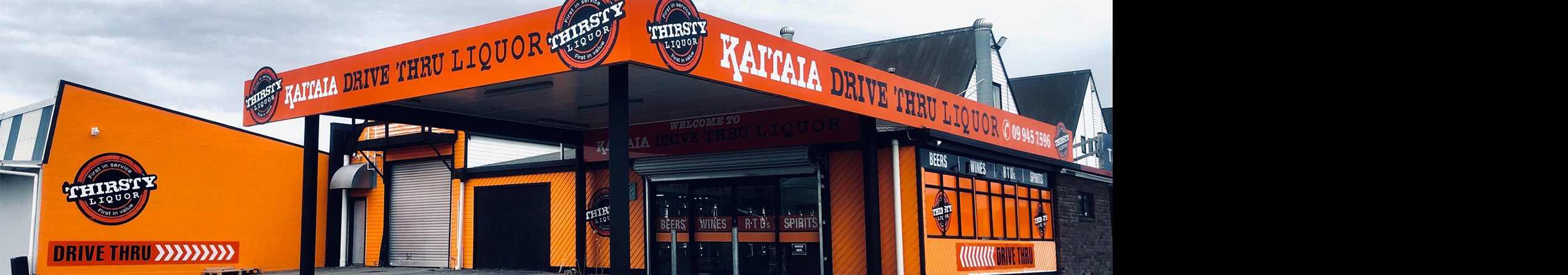 Thirsty Liquor Store Locator